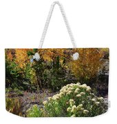 Fall Color Comes To Dillon Reservoir Weekender Tote Bag