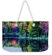 Fall Color Explosion Weekender Tote Bag
