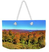 Fall Color On The Fulton Chain Of Lakes Weekender Tote Bag