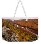 Fall Colors - Lake Of The Clouds Weekender Tote Bag
