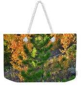 Fall Colors Along Dillon Reservoir Weekender Tote Bag