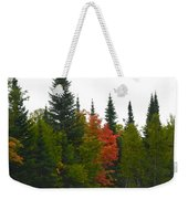 Fall Colors Are Starting Weekender Tote Bag