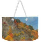 Fall Colors At Hook Mountain Weekender Tote Bag