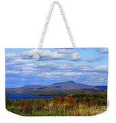 Fall Colors At Lake Carmi Weekender Tote Bag