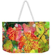 Fall Colors At The Vineyard Weekender Tote Bag