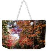 Fall Colors Backroad Weekender Tote Bag
