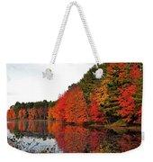 Fall Colors In Madbury Nh Weekender Tote Bag