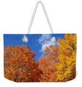Fall Colors In Spokane Weekender Tote Bag