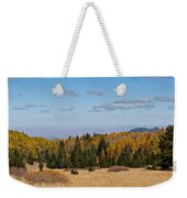 Fall Colors In The Inner Basin Weekender Tote Bag