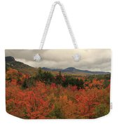Fall Colors In White Mountains New Hampshire Weekender Tote Bag