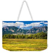 Fall Colors Of Boulder Colorado Weekender Tote Bag