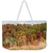Fall Colors On Hillside Weekender Tote Bag