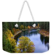 Fall Colors On The River Weekender Tote Bag