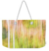 Fall Colours Abstract, Oxtongue River, Algonquin Highlands Weekender Tote Bag