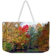 Fall Creek Weekender Tote Bag