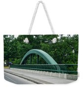 Fall Creek Gorge Bridge Cornell University Ithaca New York Weekender Tote Bag
