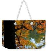 Fall Day At The Lake Weekender Tote Bag