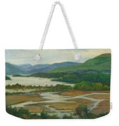 Fall Day Constitution Marsh View From Boscobel Weekender Tote Bag