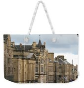 Fall Day In Edinburgh Weekender Tote Bag