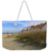 Fall Day On Tybee Island Weekender Tote Bag