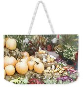 Fall Decorating At The Market Weekender Tote Bag