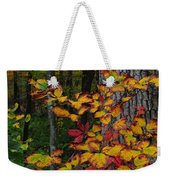 Fall Decorating Weekender Tote Bag