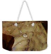 Fall Droplets Weekender Tote Bag
