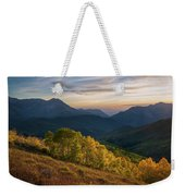 Fall Evening In American Fork Canyon Weekender Tote Bag