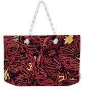 Fall Fantasy Flowers Weekender Tote Bag