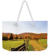 Fall Farm #4 Weekender Tote Bag