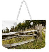 Fall Fencing Weekender Tote Bag