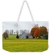 Fall Field Weekender Tote Bag