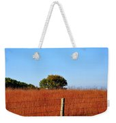Fall Field Weekender Tote Bag