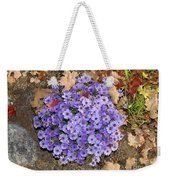 Fall Flowers Weekender Tote Bag