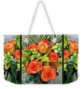 Fall Flowers Weekender Tote Bag