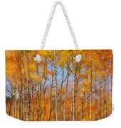 Fall Foliage Color Vertical Image Orton Weekender Tote Bag