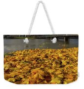 Fall Foliage In Portland Oregon City Weekender Tote Bag