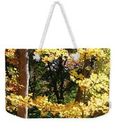 Fall Forest 3 Weekender Tote Bag
