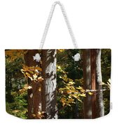 Fall Forest 4 Weekender Tote Bag