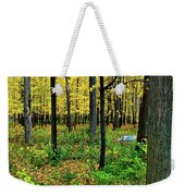 Fall Fusion Weekender Tote Bag