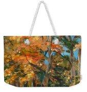 Fall Glory Weekender Tote Bag