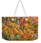 Fall Gradient Weekender Tote Bag