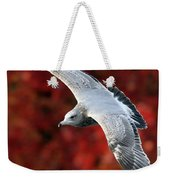 Fall Gull Weekender Tote Bag