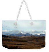 Fall Hills Rolling Towards The Mountains Weekender Tote Bag