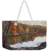 Fall In 7 Lakes Weekender Tote Bag