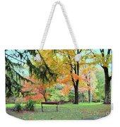 Fall In Brown County Weekender Tote Bag