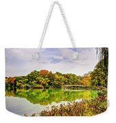 Fall In Central Park Weekender Tote Bag