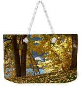 Fall In Kaloya Park 3 Weekender Tote Bag