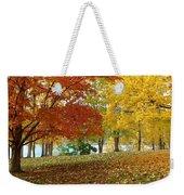 Fall In Kaloya Park 9 Weekender Tote Bag