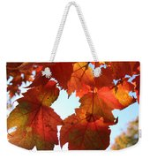 Fall In Love With Autum Weekender Tote Bag